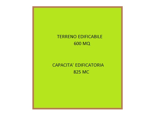 Terreno edificabile residenziale - 600 mq 825 mc - MUSANO DI TREVIGNANO (TV)