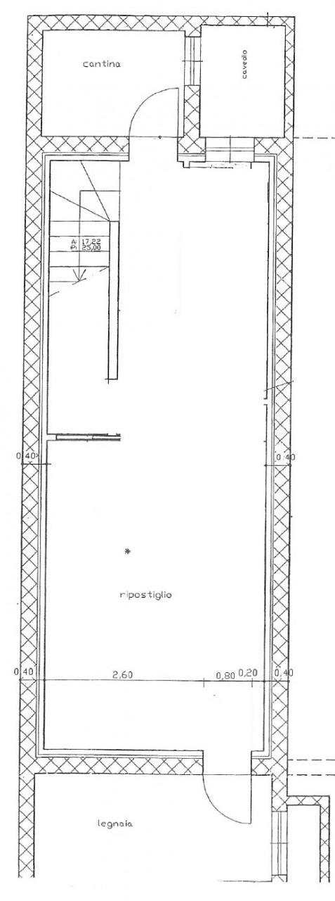 porzione di trifamiliare di testa al grezzo - 3 livelli - POVEGLIANO (TV)