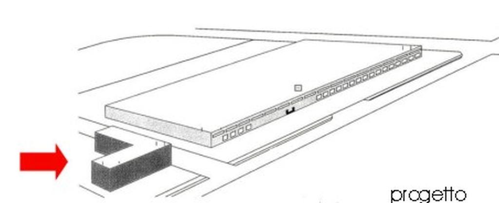 L'mmobile, in fase di progettazione, si svilupperà su 4 piani fuoriterra (terra, 1°, 2° e 3°) di mq