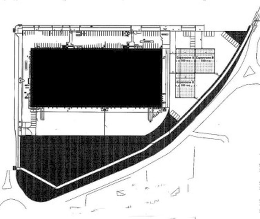 TRATTATIVA RISERVATA. Terreno industriale-artigianale edificabile di mq 4.198 ca. su cui è possibil
