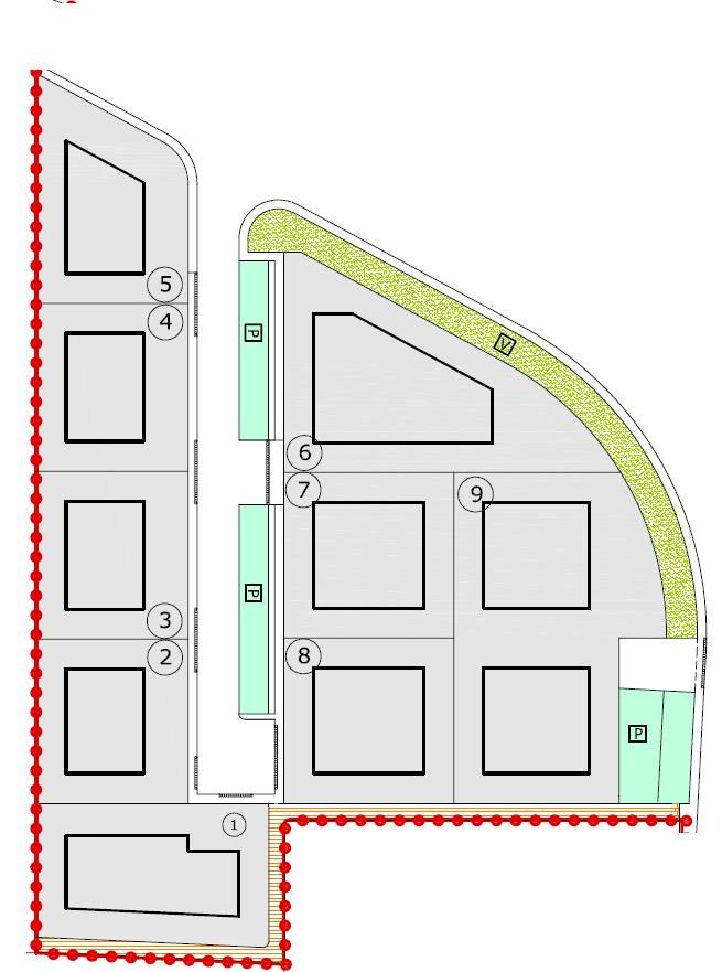 Curtarolo centro lotti di terreno edificabile da 1.000 a 1.600mc