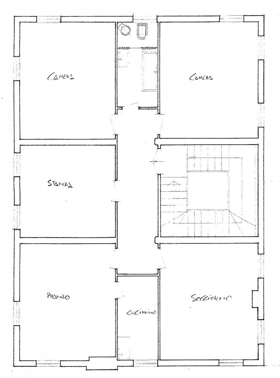 Villanova centro, appartamento tre camere