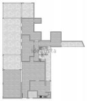 attico con terrazza abano terme adiacente isola pedonale