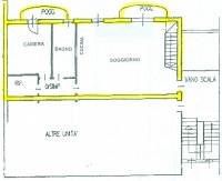 Sant'Agostino, appartamento recente con 3 camere e mansarda, in classe energetica D.