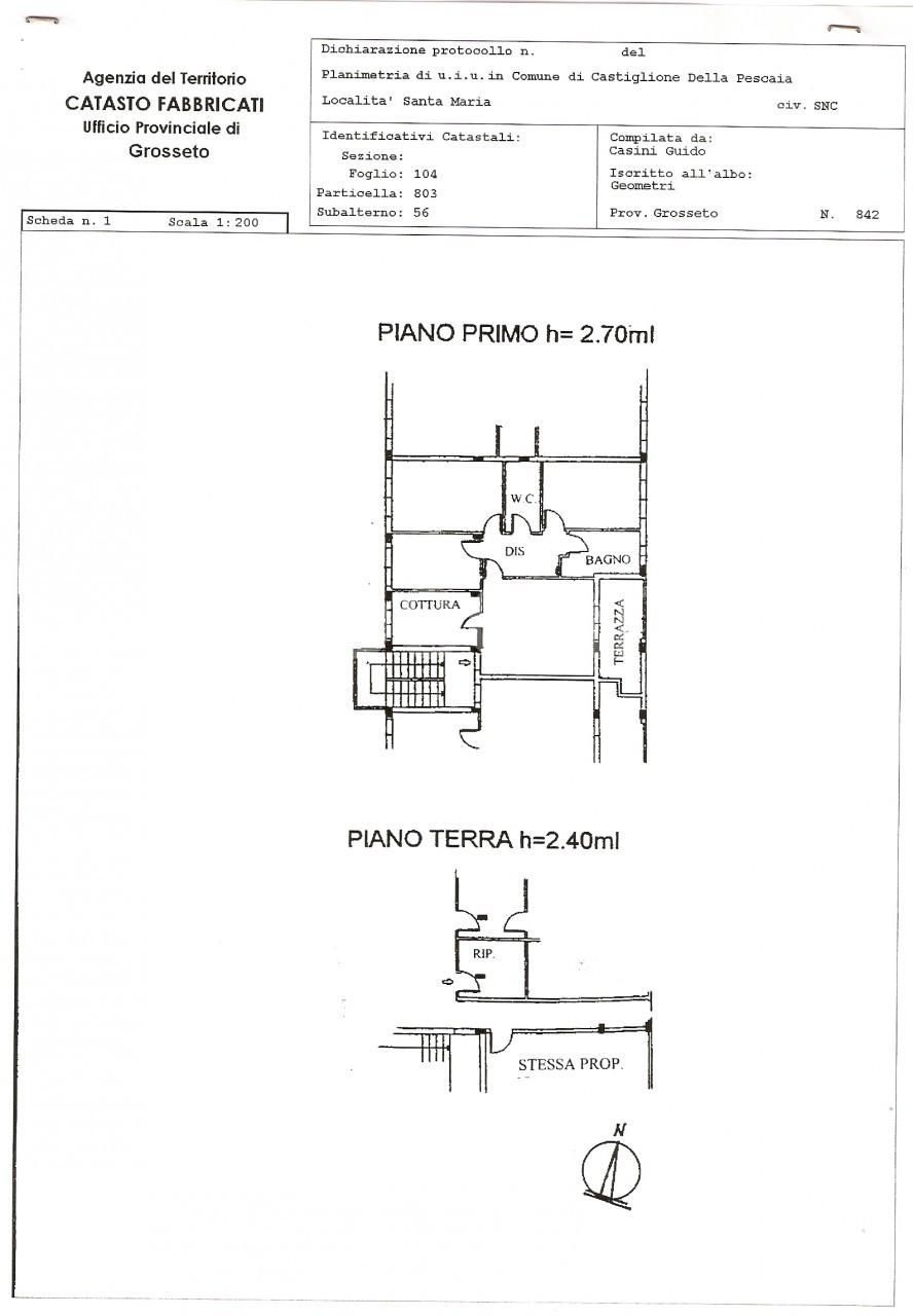 Appartamento con mansarda e garage