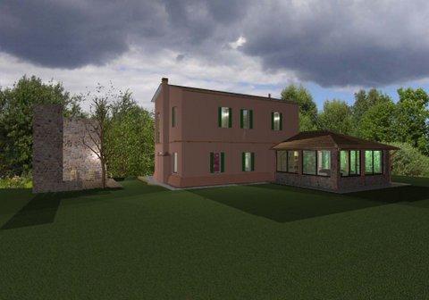 Villa in campagna con piscina e dependance
