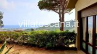 Villetta con vista mare