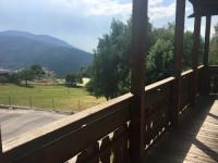 Trento, Montesover: ampio trilocale con balcone e vista panoramica