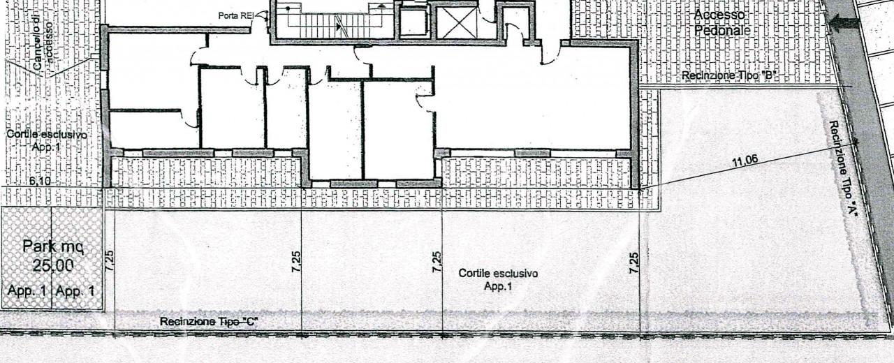 taggi di sotto nuovo appartamento con giardino privato