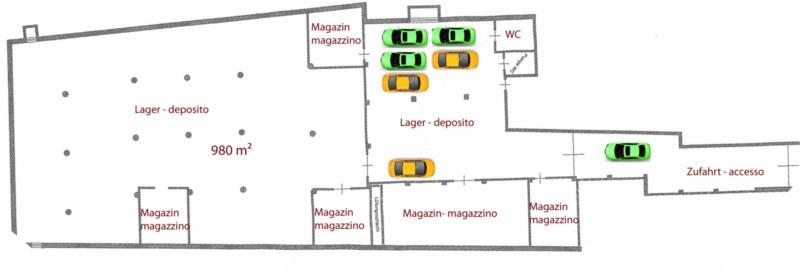 Bolzano – vendesi grande magazzino