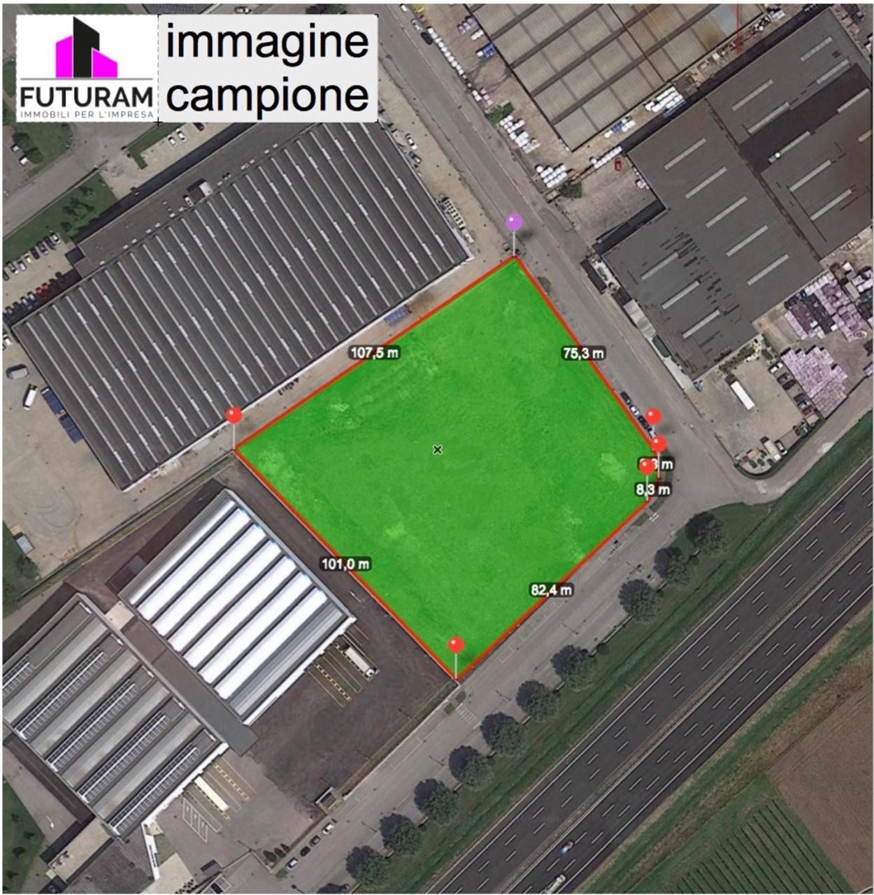 Terreno edificabile urbanizzato uso produttivo 16.000 mq