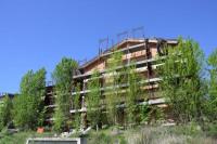 Edifici con dieci appartamenti in corso di costruzione