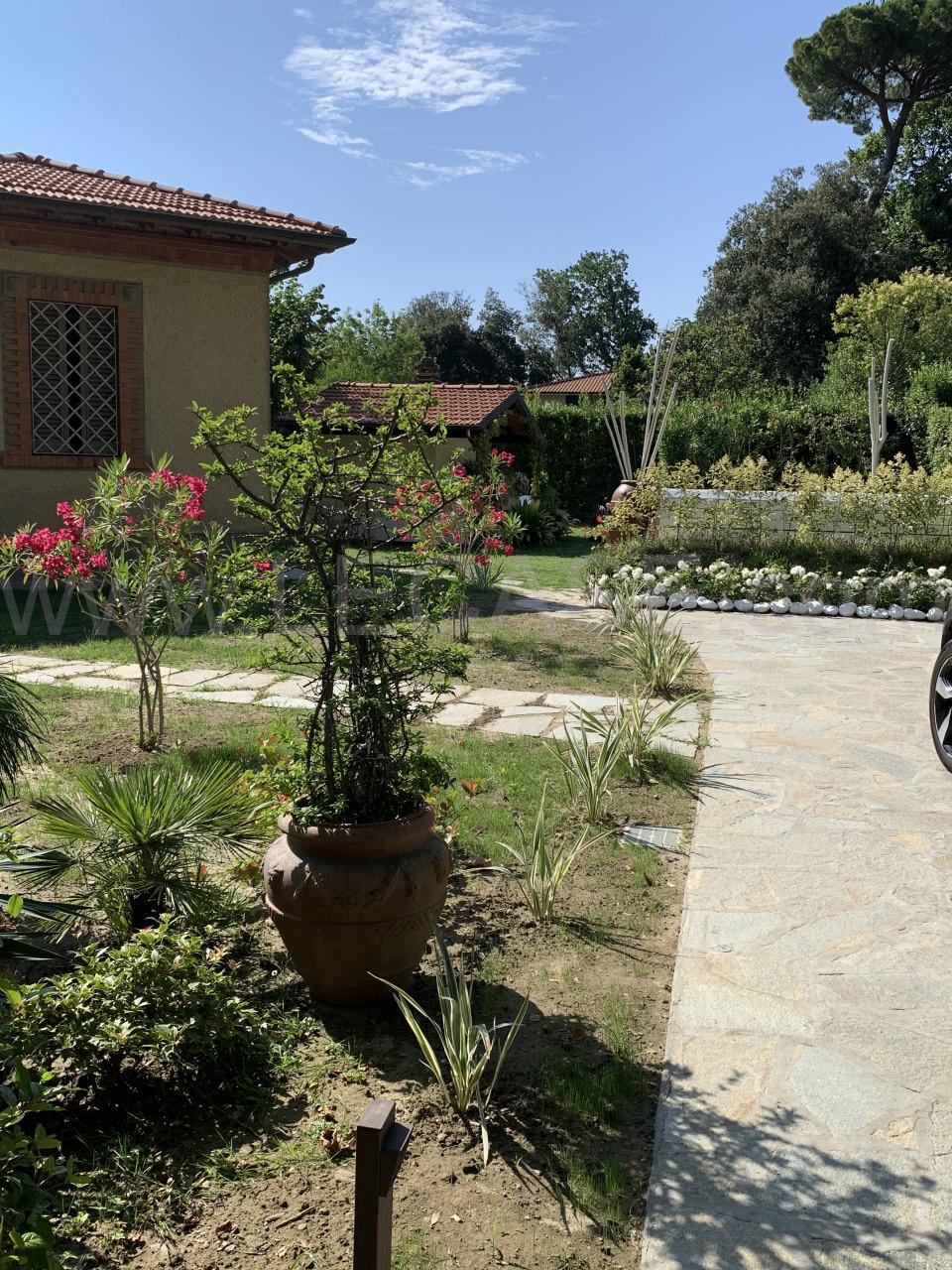 Forte dei Marmi Vittoria villa singola con giardino e piscina