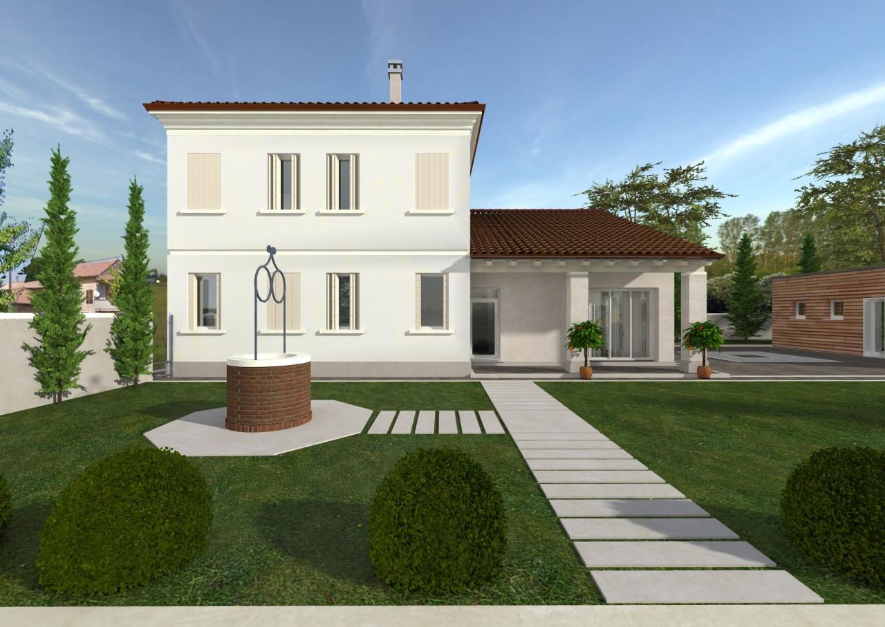 Palazzo signorile nel centro di Piacenza D'Adige