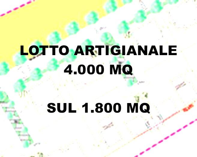 PANIGHINA - LOTTO ARTIGIANALE DI 4.000 MQ CON SUL DI 1.800 MQ