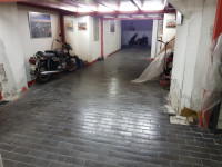 FEE ½ of a large garage