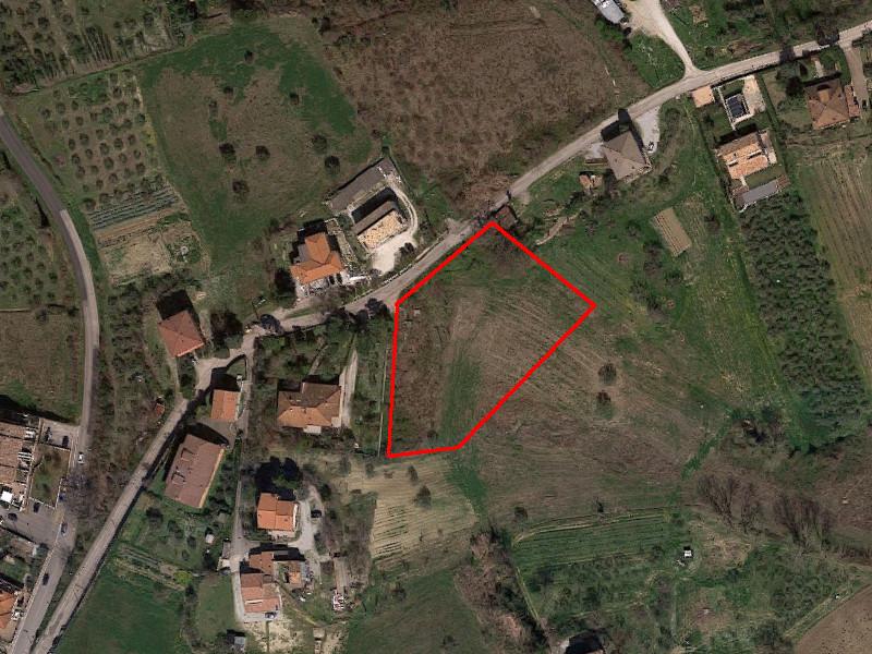 Terreno edificabile ed agricolo di 3.564 mq