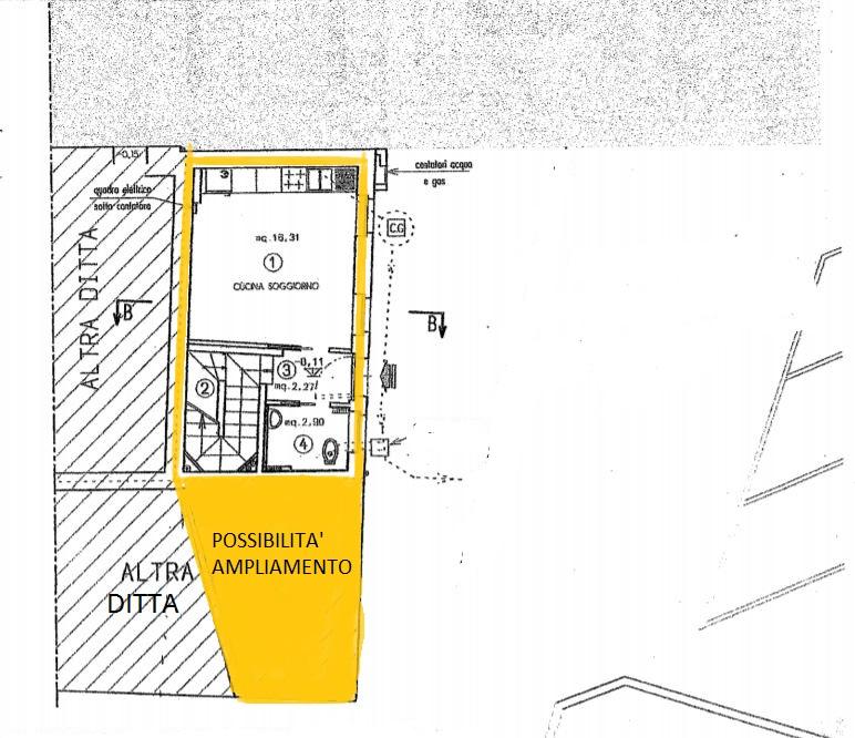 Casa a Schiera di Testa ristrutturata con possibilità di ulteriore ampliamento
