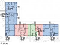 Immobile così suddiviso: mq 389 ca. al 2° piano e mq 1.707 ca. al 3° piano. Uffici inseriti in stab