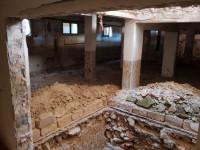 Porzione di edificio in corso di ristrutturazione