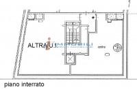 Immobile così suddiviso: mq 90 ca. al piano terra e mq 78 ca. al piano interrato (ai fini commercial