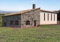 Casale di nuova costruzione in posizione panoramica sulle colline di Acqualagna