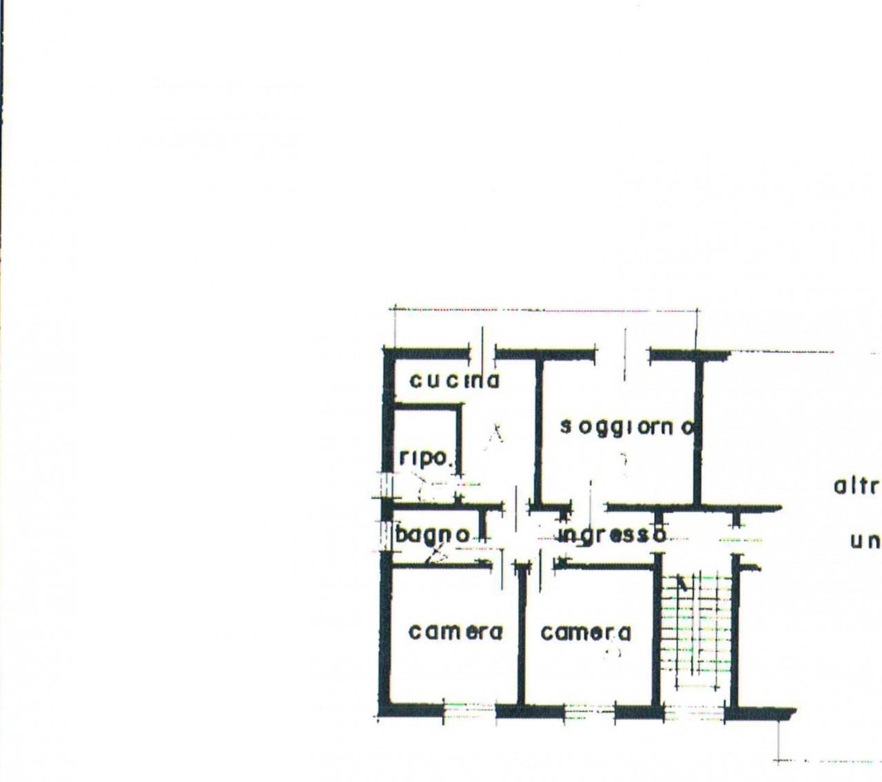 porta trento appartamento con due camere