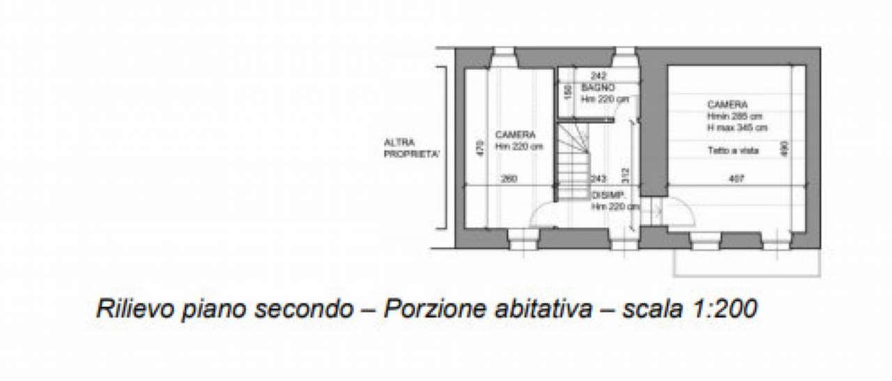 TRILOCALE SU TRE LIVELLI CON DEPOSITO ALL'ASTA IN VIA F. CAVALLOTTI, CERRO TANARO(AT)