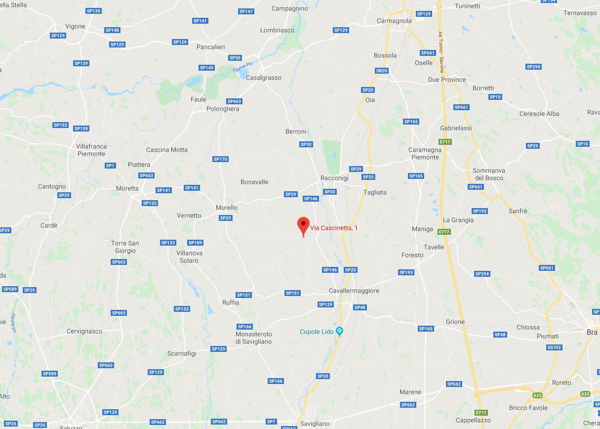 PORZIONE DI FABBRICATO ALL'ASTA IN VIA CASCINETTA, CAVALLERONE (CN)