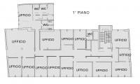 Palazzina indipendente di 4 piani fuoriterra cosi composta: piano terra mq. 360 ca. uso ufficio e mq