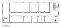 TRATTATIVA RISERVATA Immobile così composto: mq. 1.400 ca. al piano terra uso magazzaino, mq. 585 c