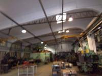 Laboratorio dotato di riscaldamento autonomo, ht. Sottotrave di 4,5 mt. Libero in 6/9 mesi dall'acc