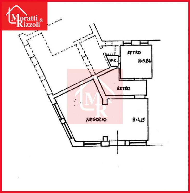 Negozio / Locale in vendita a Gorizia, 2 locali, zona Zona: Centro storico, prezzo € 65.000 | CambioCasa.it