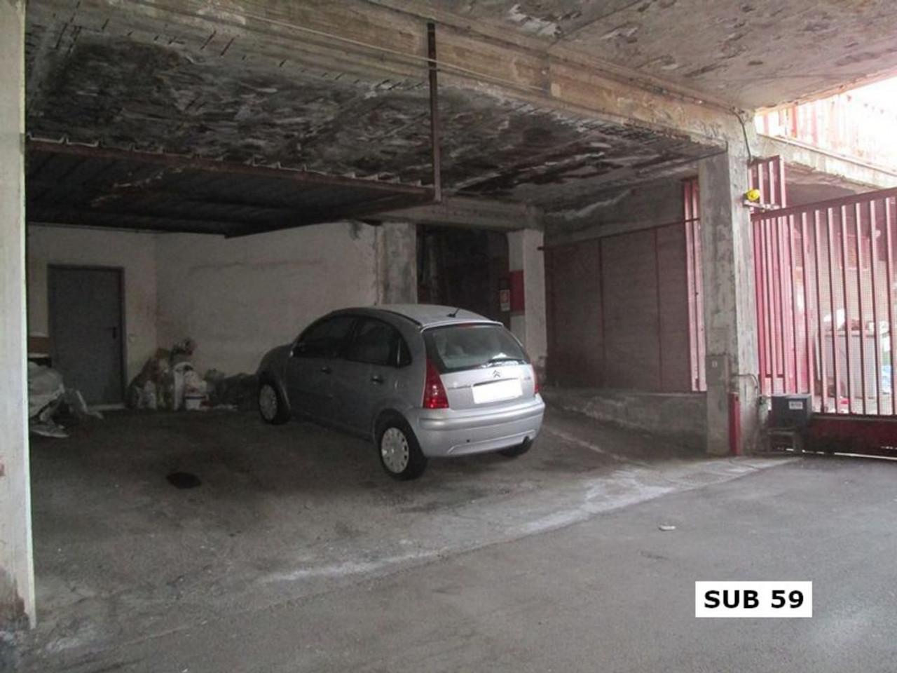Posto auto coperto al piano interrato (sub. 59)