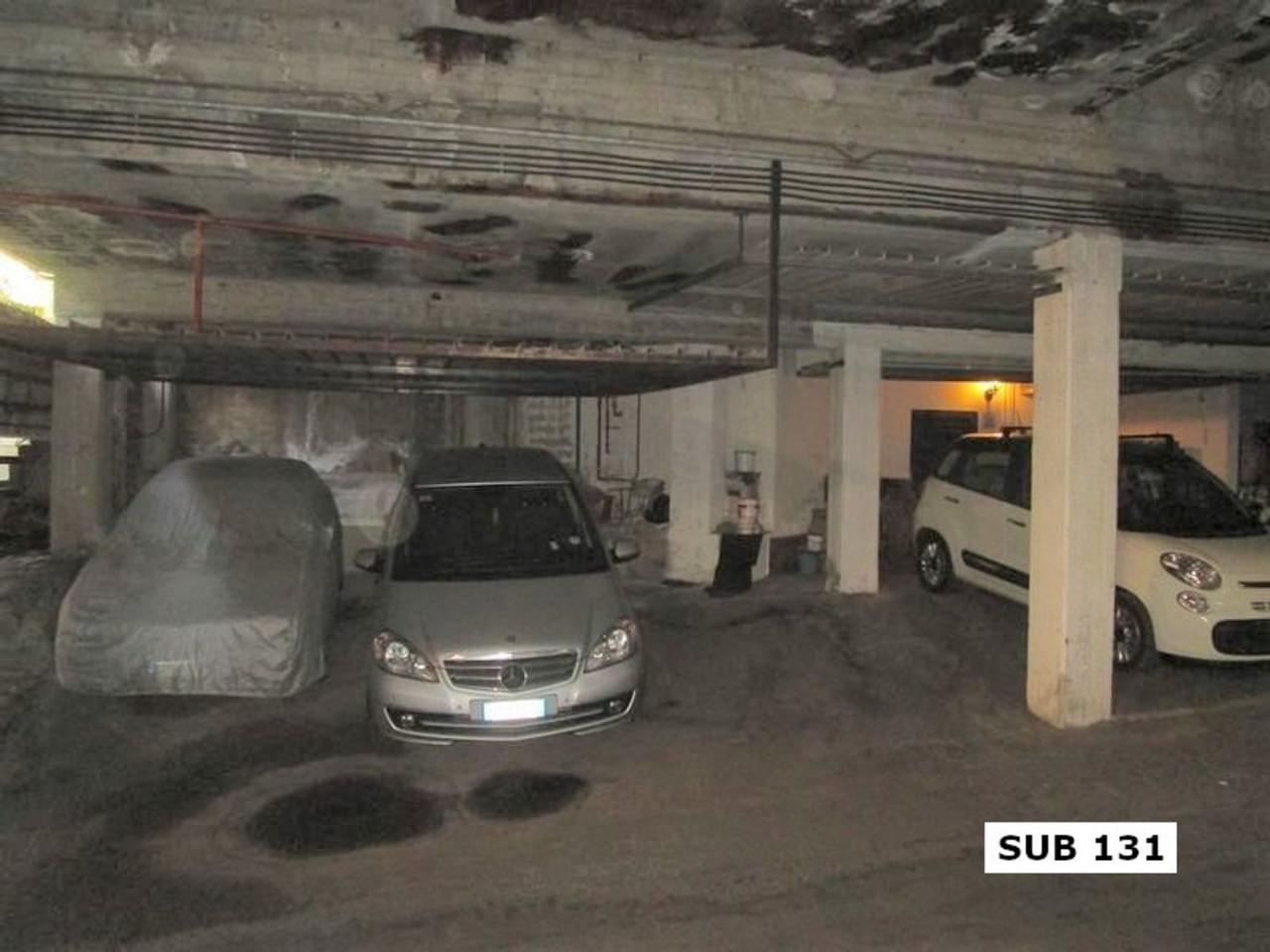Posto auto coperto al piano interrato (sub. 131)