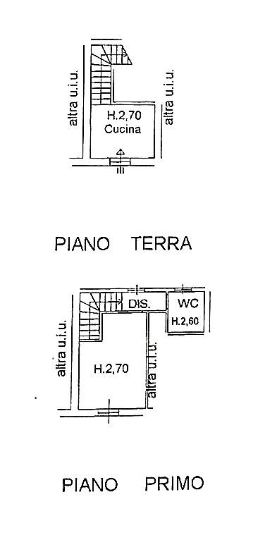 Delizioso appartamentino terra-tetto su due piani