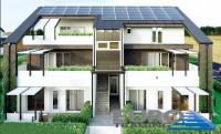 TREBASELEGHE: Nuovo appartamento 3 camere e 2 bagni con ampie terrazze