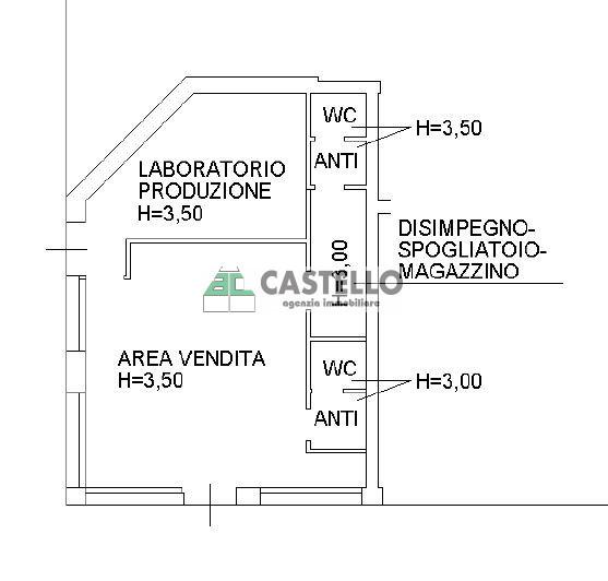 Affitto negozio Vigodarzere (PD)