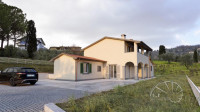 Colle. Villa moderna di nuova costruzione con piscina e 7500 mq di giardino.