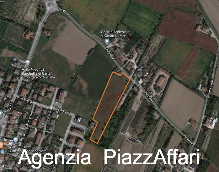 TERRENO AGRICOLO - CAMPOLONGO MAGGIORE (ZONA CENTRALE)