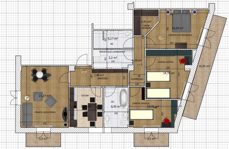 Appartamento in vendita a Sora, 3 locali, prezzo € 75.000   CambioCasa.it