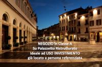 Negozio in Classe A ad uso investimento