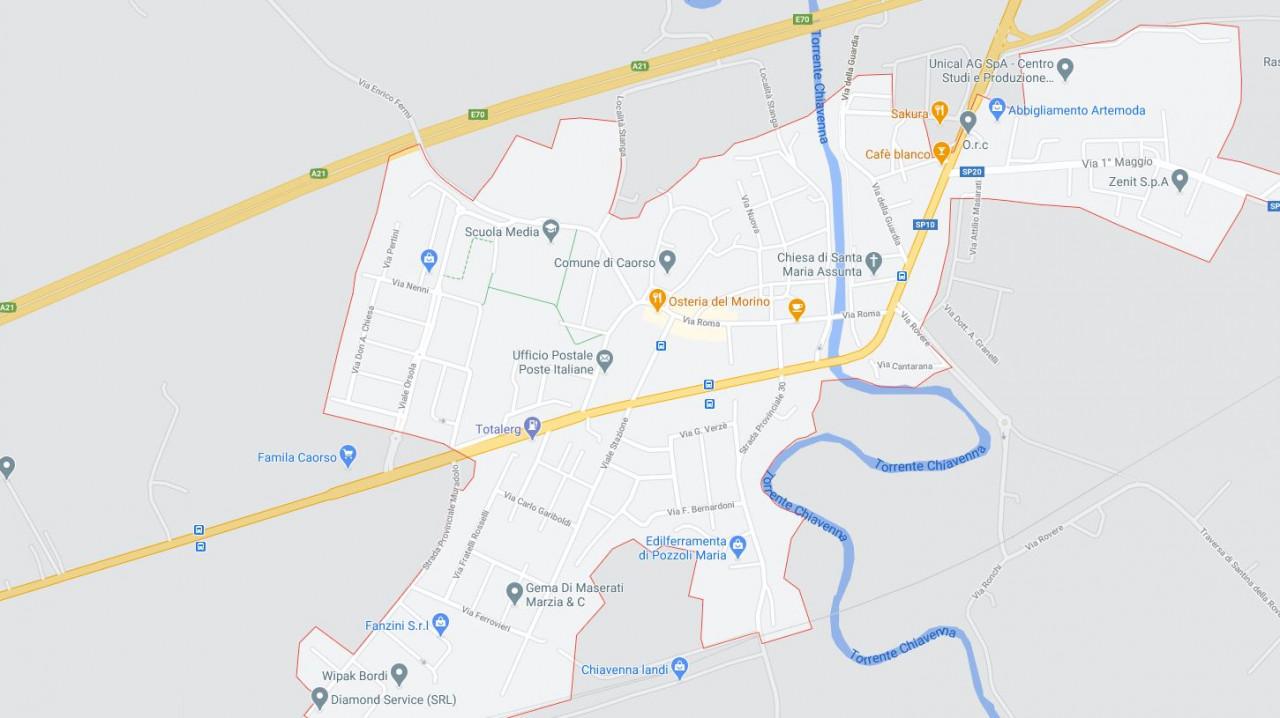 CASCINA SIGNORILE DA RISTRUTTURARE ALL'ASTA IN STRADA PADANA INFERIORE, CAORSO (PC)