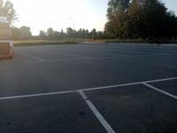 Trino vendesi area commerciale in zona di forte passaggio con ampio parcheggio
