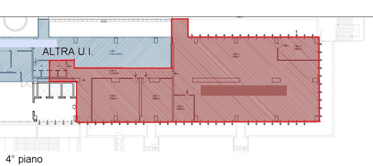 Ufficio inserito in Centro Direzionale, dotato di riscaldamento e condizionamento centralizzato, con