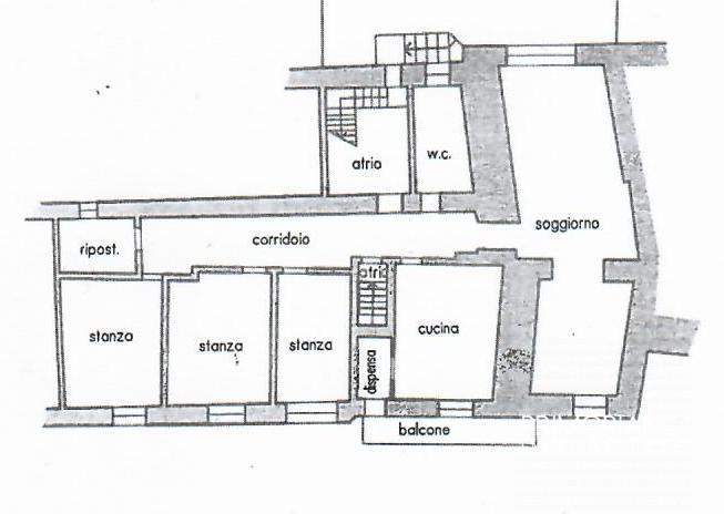 Porzione di casa terra cielo nel centro di Albiano