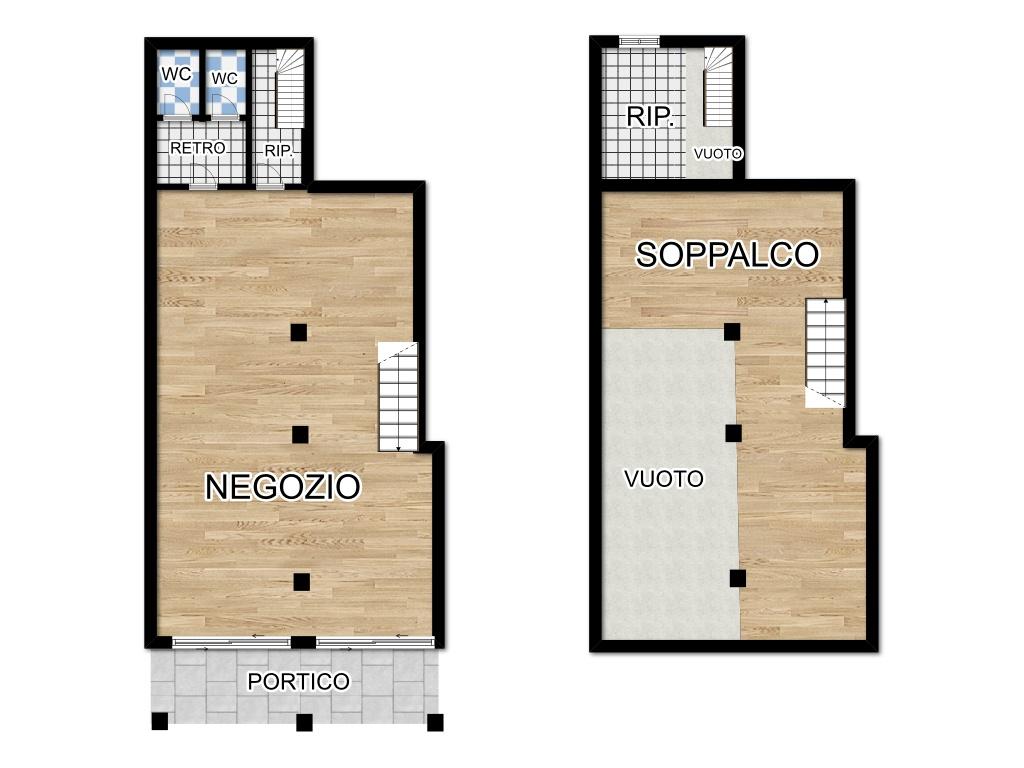 L515 Negozio affittato ad attività storica in vendita a Montegrotto Terme Array