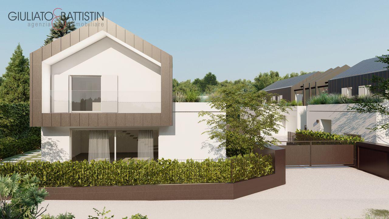 FOGLIA PISANI: nuova VILLA con piscina a Laghetto - VICENZA