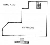 Immobile commerciale disposto su due livelli di mq. 600 ca. ciascuno: piano terra con un'altezza di