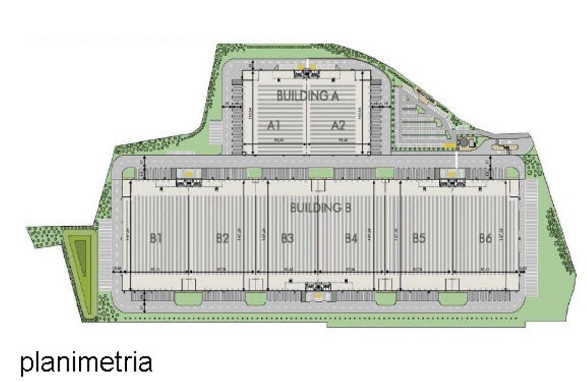 TRATTATIVA RISERVATA. Nuovo complesso logistico di prossima realizzazione di mq 21.855 ca. con n. 2